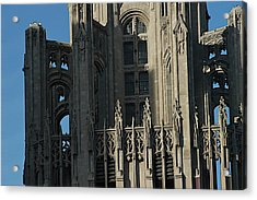 Tribune Tower Acrylic Print by Joseph Yarbrough