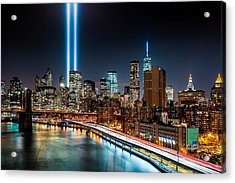 Tribute In Light Memorial Acrylic Print