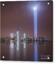 Tribute In Light Acrylic Print