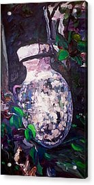 Acrylic Print featuring the painting Tribute by Ray Khalife