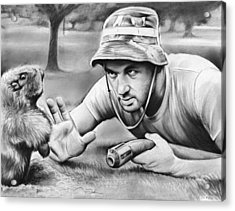 Tribute To Caddyshack Acrylic Print