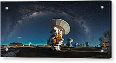 Tribute To Carl Sagan Acrylic Print by Adhemar Duro