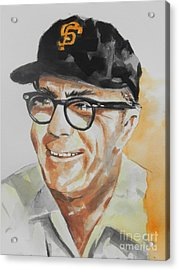 Tribute To Edward Logan My Grandfather  Acrylic Print