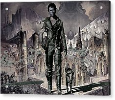 Tribute To Mad Max Acrylic Print by Francis Erevan