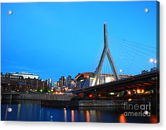 Tribute To Mr Zakim Acrylic Print