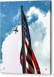 Tribute To The Day America Stood Still Acrylic Print