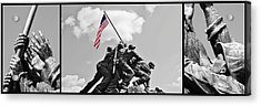 Tribute To The Marines Acrylic Print