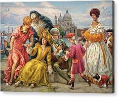 Tribute To Veronese Acrylic Print