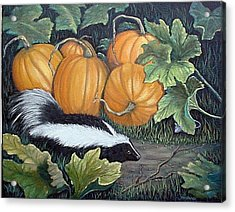 Trick Or Treat Acrylic Print by Fran Brooks