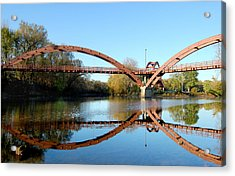 Acrylic Print featuring the photograph Tridge by Michael Donahue