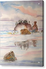 Trinidad Rocks Acrylic Print
