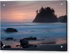 Trinidad Sunset - Another View Acrylic Print by Mark Alder