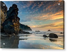 Trinidad Sunset Acrylic Print by Randy Wood