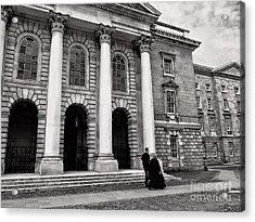 Trinity College Examination Hall Acrylic Print