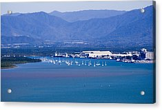 Trinity Inlet From The Air Acrylic Print