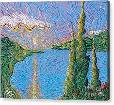 Trinity Lake 2 Acrylic Print by Stefan Duncan