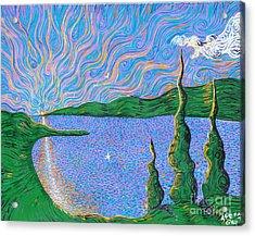 Trinity Lake Series Acrylic Print by Stefan Duncan