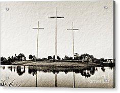Trinity Acrylic Print by Scott Pellegrin