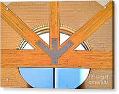 Trinity Series  2 Acrylic Print by Luther Fine Art