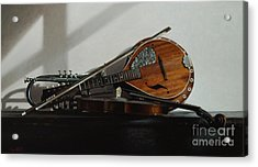 Trio Acrylic Print by Larry Preston