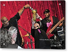 Trio Throwdown With Andy Stokes And Patrick Lamb And Randy Monroe Acrylic Print