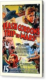 Trip To Mars 1938 Acrylic Print