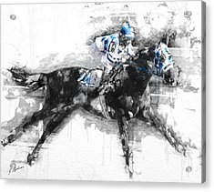 Secretariat Triple Crown 73 Acrylic Print