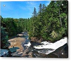 Triple Falls North Carolina Acrylic Print