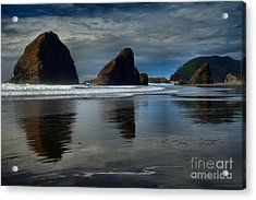 Triple Reflections Acrylic Print by Adam Jewell