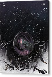 Marble Acrylic Print by Jason Girard