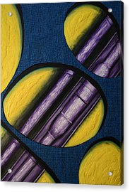 Tripping Pipe Acrylic Print by Shawn Marlow