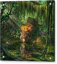 Aurora's Garden Acrylic Print
