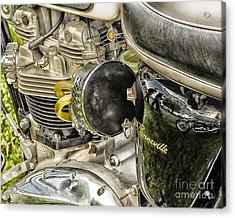 Acrylic Print featuring the photograph Triumph Bonneville by JRP Photography