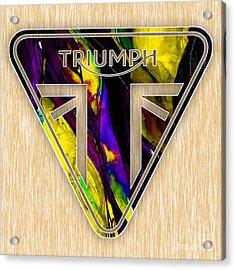Triumph Motorcycles Acrylic Print