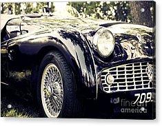 Triumph Tr3a Acrylic Print