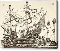 Triumphal Vessel Acrylic Print