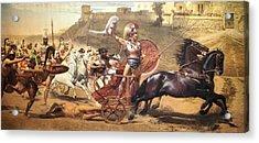 Triumphant Achilles Acrylic Print
