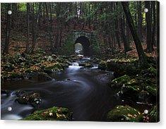 Troll Bridge Acrylic Print
