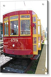 Trolley 458 Acrylic Print by Steven Parker
