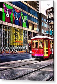 Trolley Time Acrylic Print