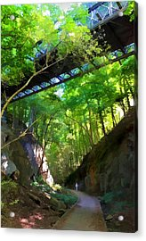 Trolley Trail #9 - Under Westchester Avenue Acrylic Print