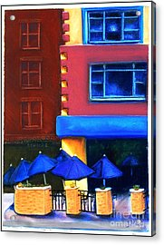 Trolley's Acrylic Print by Janet Hull