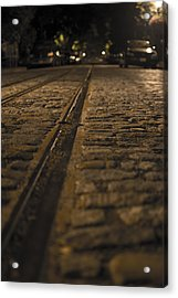 Trollies Came First Acrylic Print by Michael Williams