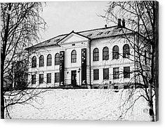 Tromso Gallery Of Contemporary Art Troms Norway Europe Acrylic Print by Joe Fox