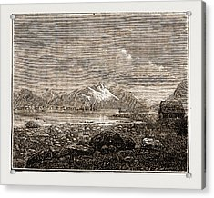 Tromsoe, Norway Engraving 1873 Acrylic Print by Litz Collection