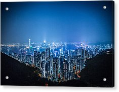 Acrylic Print featuring the photograph Tron Kong by Mike Lee