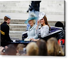 Trooping The Colour 2012 Acrylic Print by Dutourdumonde Photography