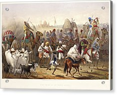 Troops Of The Native Allies Acrylic Print by British Library