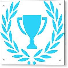 Trophy With Laurel Wreath Acrylic Print by Chokkicx