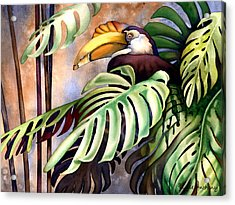 Tropic View Acrylic Print by Lyse Anthony
